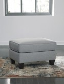 Ashley Menga Grey Ottoman Available Online in Dallas Fort Worth Texas