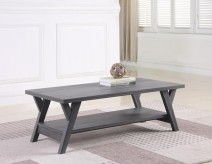 Coaster Ridge Grey Coffee Table Available Online in Dallas Fort Worth Texas