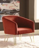 Coaster CasaBella Red Accent Ch... Available Online in Dallas Fort Worth Texas