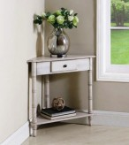Coaster Silly White Accent Table Available Online in Dallas Fort Worth Texas
