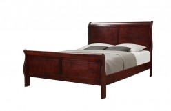 Louis Philippe King Bed Available Online in Dallas Fort Worth Texas
