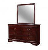 Coaster Louis Philippe Mirror Available Online in Dallas Fort Worth Texas