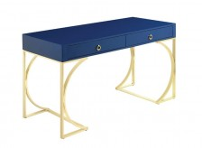 Coaster Molber Blue Writing Desk Available Online in Dallas Fort Worth Texas