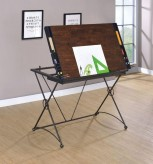 Coaster Powhatt Drafting Desk Available Online in Dallas Fort Worth Texas