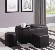 Coaster Sandy Brown Ottoman Available Online in Dallas Fort Worth Texas