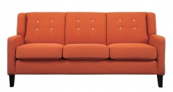 Homelegance Roweena Orange Sofa Available Online in Dallas Fort Worth Texas