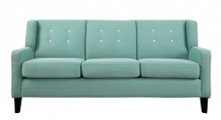 Homelegance Roweena Teal Sofa Available Online in Dallas Fort Worth Texas