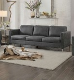 Homelegance Breaux Grey Sofa Available Online in Dallas Fort Worth Texas