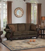 Homelegance Mandeville Brown Sofa Available Online in Dallas Fort Worth Texas