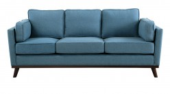 Homelegance Bedos Blue Sofa Available Online in Dallas Fort Worth Texas