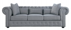 Homelegance Savonburg Grey Sofa Available Online in Dallas Fort Worth Texas