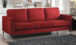 Homelegance Canaan Red Sofa Available Online in Dallas Fort Worth Texas