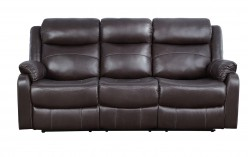 Homelegance Yerba Dark Brown Sofa Available Online in Dallas Fort Worth Texas