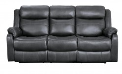 Homelegance Yerba Dark Grey Sofa Available Online in Dallas Fort Worth Texas