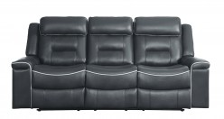 Homelegance Darwan Dark Grey Sofa Available Online in Dallas Fort Worth Texas