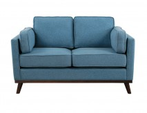 Homelegance Bedos Blue Loveseat Available Online in Dallas Fort Worth Texas