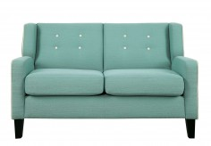 Homelegance Roweena Teal Loveseat Available Online in Dallas Fort Worth Texas