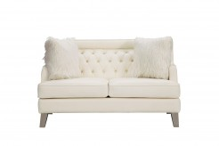 Homelegance Nevaun Cream Loveseat Available Online in Dallas Fort Worth Texas