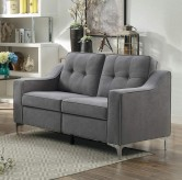 Homelegance Murana Grey Loveseat Available Online in Dallas Fort Worth Texas