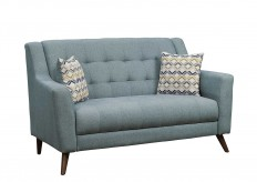 Homelegance Basenji Grey Loveseat Available Online in Dallas Fort Worth Texas