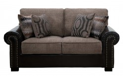Homelegance Boykin Brown Loveseat Available Online in Dallas Fort Worth Texas