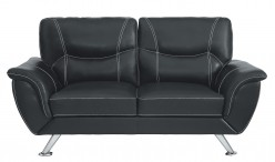 Homelegance Jambul Black Loveseat Available Online in Dallas Fort Worth Texas