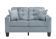 Homelegance Lantana Grey Loveseat Available Online in Dallas Fort Worth Texas