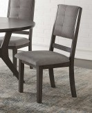 Homelegance NIsky Grey Side Chair Available Online in Dallas Fort Worth Texas
