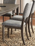 Homelegance Roux Grey Side Chair Available Online in Dallas Fort Worth Texas