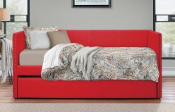 Homelegance Therese Red Daybed Available Online in Dallas Fort Worth Texas