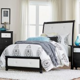 Homelegance Odelia Black Twin Bed Available Online in Dallas Fort Worth Texas