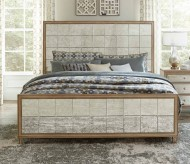 Kalette Oak Queen Bed Available Online in Dallas Fort Worth Texas