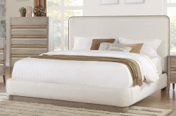 Aristide Grey King Bed Available Online in Dallas Fort Worth Texas