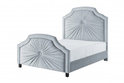 Bossa Nova Grey Queen Bed Available Online in Dallas Fort Worth Texas
