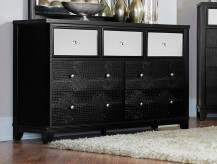 Odelia Black Dresser Available Online in Dallas Fort Worth Texas