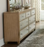 Homelegance Kalette Oak Dresser Available Online in Dallas Fort Worth Texas