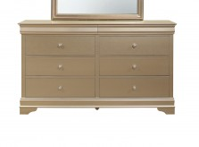 Abbeville Gold Dresser Available Online in Dallas Fort Worth Texas
