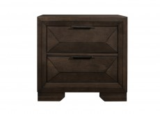 Chesky Espresso Night Stand Available Online in Dallas Fort Worth Texas