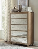 Kalette Oak Chest Available Online in Dallas Fort Worth Texas