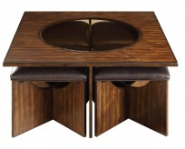 Akita Cherry Coffee Table Available Online in Dallas Fort Worth Texas