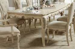 Elsmere Grey Dining Table Available Online in Dallas Fort Worth Texas