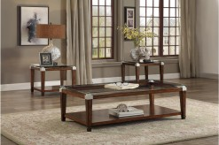 Homelegance Paseo Cherry 3pc Co... Available Online in Dallas Fort Worth Texas