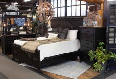 Wintho 5pc Black Cal King Bedroom Group Available Online in Dallas Fort Worth Texas