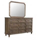New Classic Avondale Brown Mirror Available Online in Dallas Fort Worth Texas