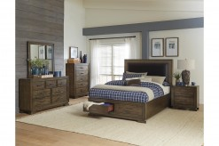 Griffon 5pc Brown King Bedroom Group Available Online in Dallas Fort Worth Texas