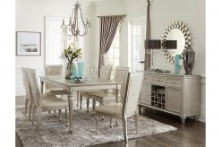 Homelegance Calendine 7pc Silve... Available Online in Dallas Fort Worth Texas
