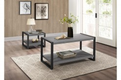 Homelegance Dogue 3pc Grey Coff... Available Online in Dallas Fort Worth Texas