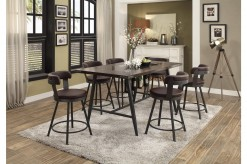 Homelegance Appert 7pc Brown Co... Available Online in Dallas Fort Worth Texas