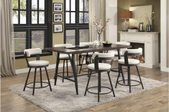 Homelegance Appert 7pc White Co... Available Online in Dallas Fort Worth Texas