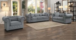 Savonburg 2pc Grey Sofa & Loveseat Set Available Online in Dallas Fort Worth Texas